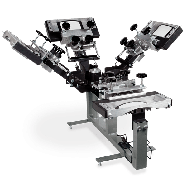 4 color Cap Max Screen Printing Press