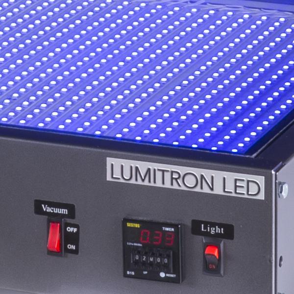 LUMITRON LED SCREEN EXPOSURE UNIT CLOSE UP 3